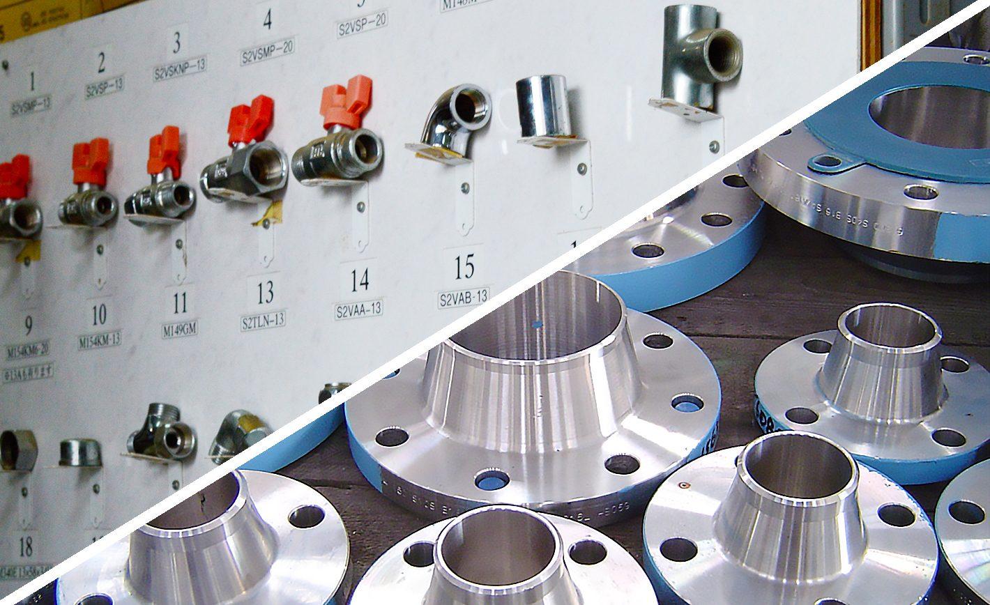 三協機材が取り扱う鋼管継手類